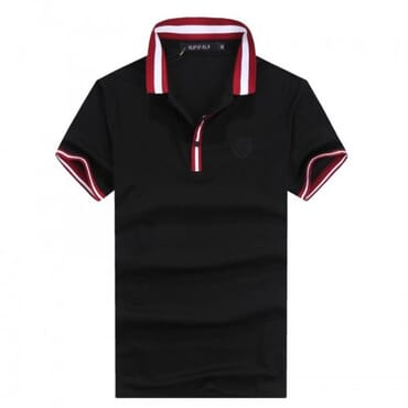 Black with strip GG,Shirt short,