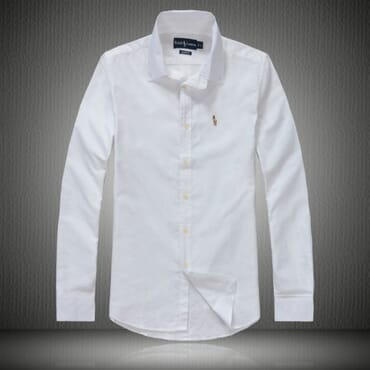 White Polo By Raulph Lauren Shirt with Small Pony