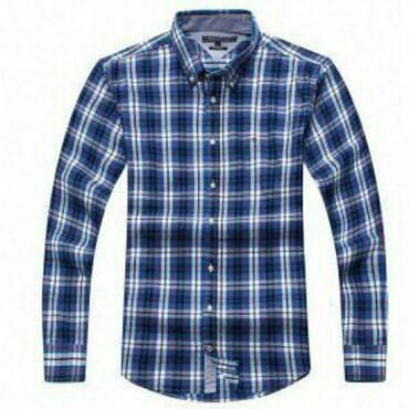 TOMMY HILFIGER CHECKERS LONGSLEEVE BLUE
