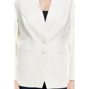 Fitted Blazer - Off White