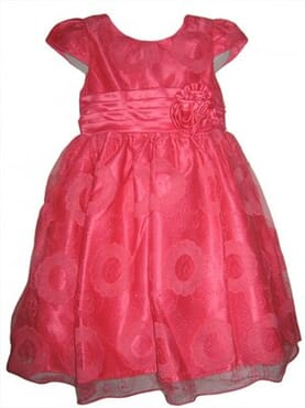 TIA Floral Lace Girls Xmas Party Dress