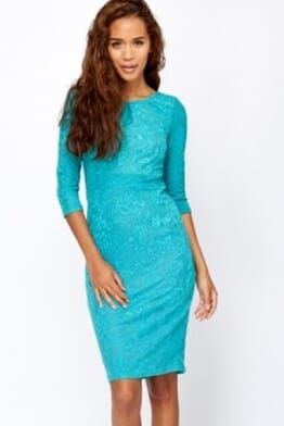 Collection London Lace Overlay Dress