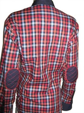 Pamoni Ladies Office Checkered Shirt - Multicolour