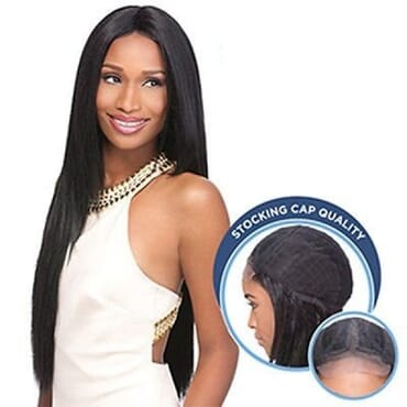 Sensationnel Stocking Cap Custom Lace Wig - Yaki 30