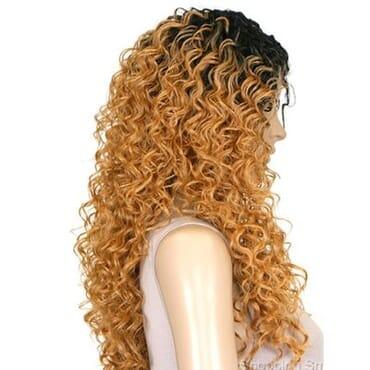 Sensationnel Empress Lace Front Wig Italian Curl- 1B/27