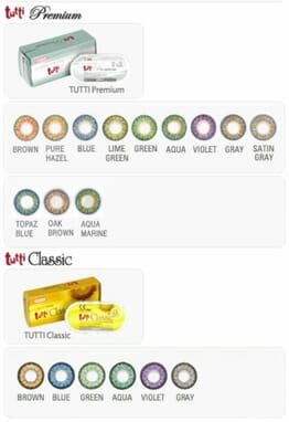 Contact Lens + solution