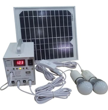 8W Solar Generating Lighting System