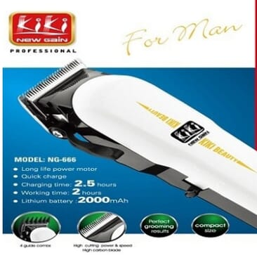 Kiki Rechargeable Professional Hair Clipper