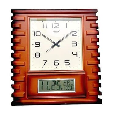 Analog & Digital Wall Clock