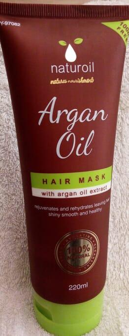 Naturoil argan oil hair mask