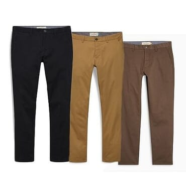Sharp Luxury Chinos Trousers - 3 In 1