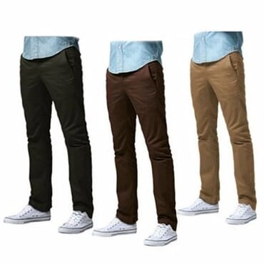 Smart Chinos Trousers For Men - 3 In 1