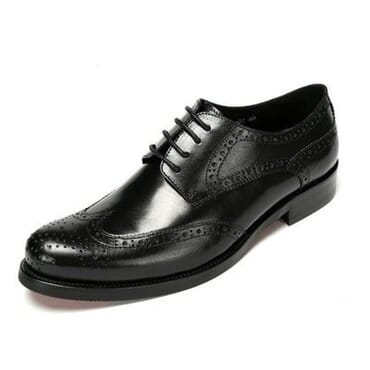 Executive Brogues Shoe - Black