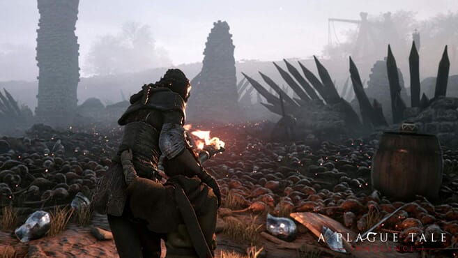 PS4 A PLAGUE TALE