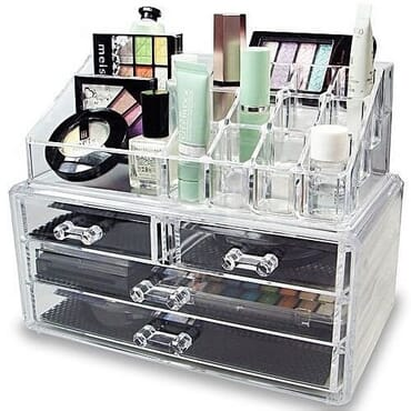 Acrylic Cosmetics Storage Display Boxes - Big