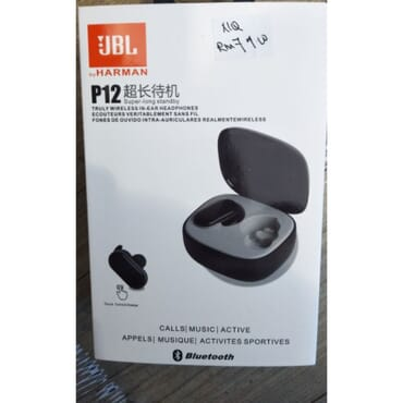 JBL P12 by Harman Wireless Bluetooth Earphones Earbuds Headset Sports