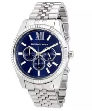 Michael Kors Lexington Chronograph Dial Watch for Men