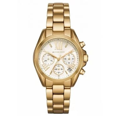 Michael Kors Men Bradshaw Rose Gold-Tone Watch