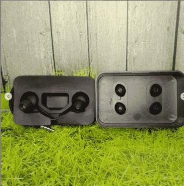 Handsfree Samsung S10 + AKG Box EO-IG955 Black Stereo Earphone Headset