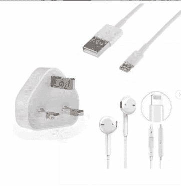 Charger For iPhone X + Earphones For iPhone 6S 7 8, X, XR, X Plus