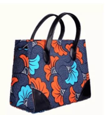 Ankara Vibes Ladies Ankara Square Hand Bag