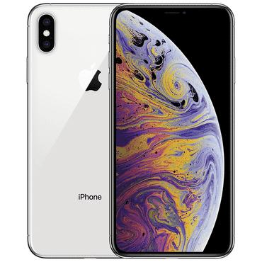 UK USED Apple IPhone  XS Max (4GB RAM, 256GB ROM) IOS 12 (12MP + 12MP)+7MP - Sliver - Dual SIM (nano-SIM)
