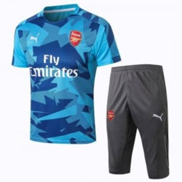 ARSENAL TRAINING KIT BLUE-CAMOUFLAGE