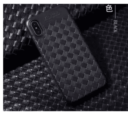Auto Focus Case For iPhone X - Black
