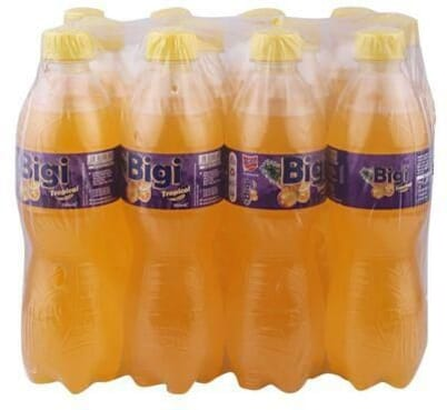 Bigi Soft Drinks - tropical 50CL - PET Pack of 12