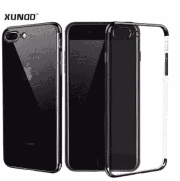Xundd Transparent Protective Back Case For Samsung Galaxy A8 Plus 2018 - Black