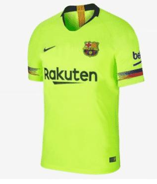 Barcelona Away Jersey 2018/2019