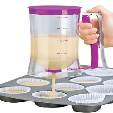 Batter Dispenser for Cupcakes Doughnuts Muffins - Big