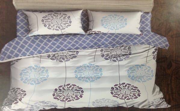 Bed sheet, duvet and pillow cases 119