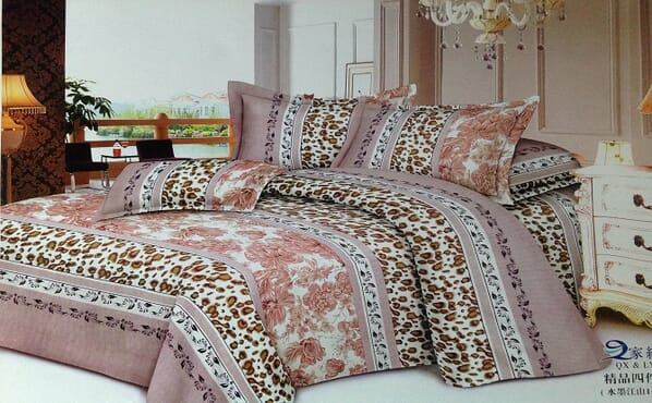 Bed sheet, duvet and pillow cases 111