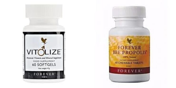 VITOLISE MEN + FOREVER BEE PROPOLIS