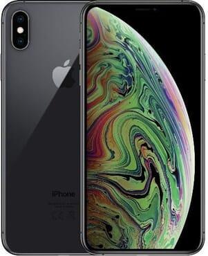 UK USED Apple IPhone  XS Max (4GB RAM, 256GB ROM) IOS 12 (12MP + 12MP)+7MP - black - Dual SIM (nano-SIM)