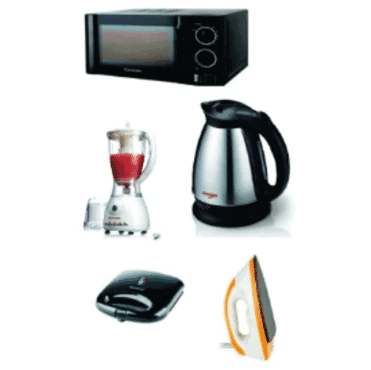 Century Microwave + Dry Iron + Toaster +Jug + Blender Bundle