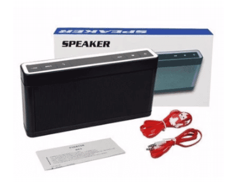 A&S Wireless Bluetooth Speaker With Fm Radio