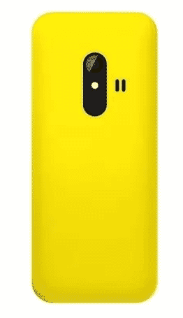 bontel 108 Phone -1.8 Inch - 1000 Mah Battery - Micro Usb Connector - Yellow