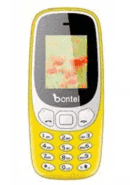 bontel 3310-Colorful Phone With 1000 mAH Battery - Yellow