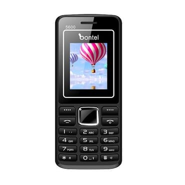 bontel 5600 Phone - 1.8 - 3000mah - Black