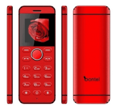 bontel L1 - Hidden Top HD Camera - Background Video Function - Red