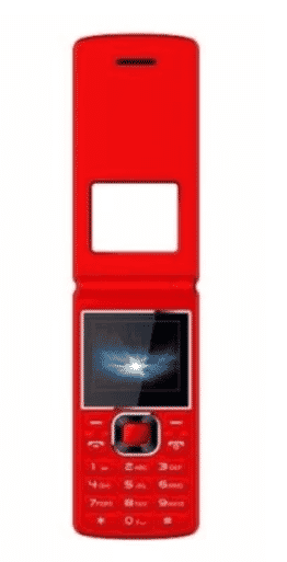 bontel A300 1000mAah Phone - Red