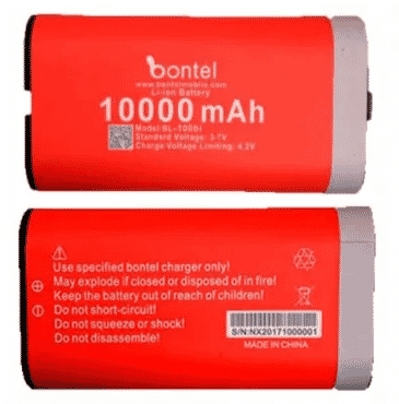 bontel A8 Replacement Battery