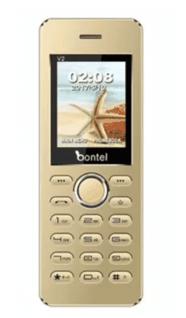 bontel V2 - Metal Body - Slim Shape - Gold