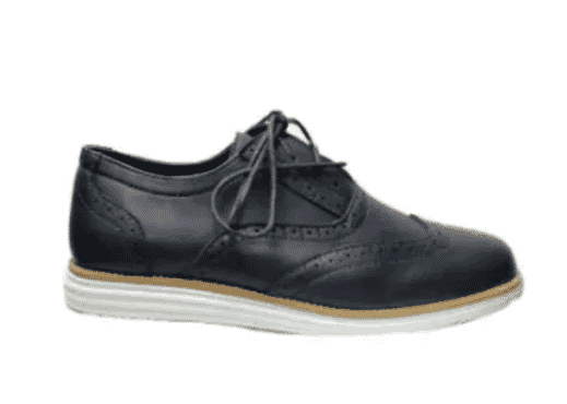 Bear inc Lace Up Brogues Shoe- Blue
