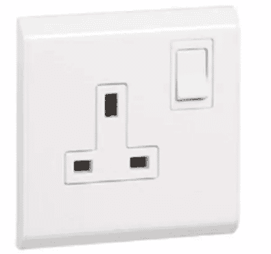 Legrand BS Socket Outlet Belanko - 13 A - 250 V- 617141