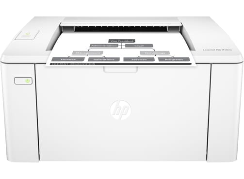 HP Laserjet Pro M102a Black & White Printer