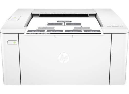 HP Laserjet Pro M102a Black & White Printer