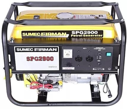 Sumec 2.5kva SPG2900 Manual Start Generator